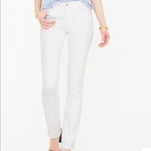 JCREW White Jeans